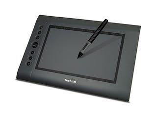 Illustration for article titled Save Over 60% On The Top-Rated Turcom Graphic Drawing Tablet & Stylus