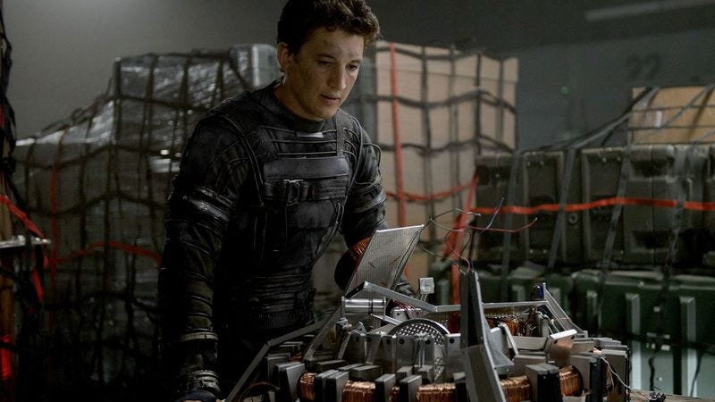 Look, just give him a minute to put it together, okay? (Fantastic Four)