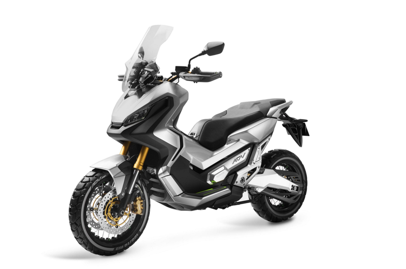 Illustration for article titled Honda's Adventure Scooter Is Coming For 2017, Start Petitioning For A U.S. Version