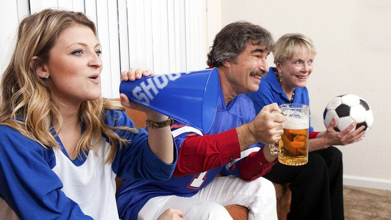 Illustration for article titled 8 Ways To Dial Up Your World Cup Party From 0 All The Way To 3 Or 4