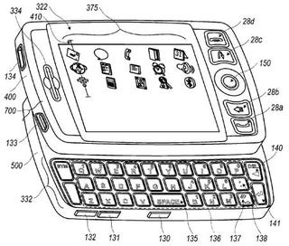 Illustration for article titled Touchscreen Blackberry Patent Suggests RIM has SideKick-Envy