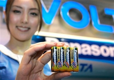 Illustration for article titled Panasonic's Evoltas Earn Guinness Record For Battery Life