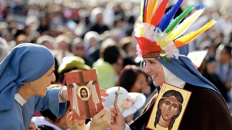 Illustration for article titled The Catholic Church Makes Kateri Tekakwitha the First Native American Saint Amid Some Rejoicing