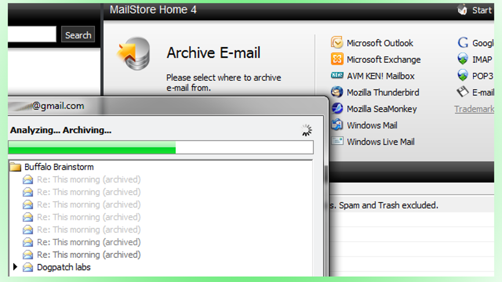 MailStore Home Is the Easiest Email Backup Tool We've Seen