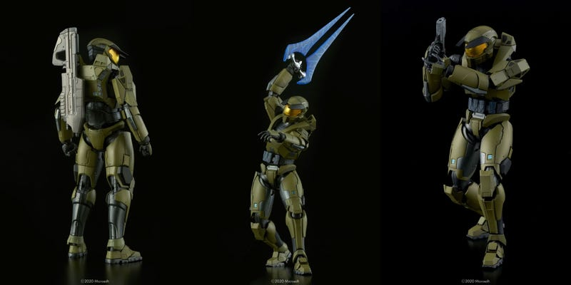 Illustration for article titled 18 Years Later, We've Got The Perfect Halo Action Figure