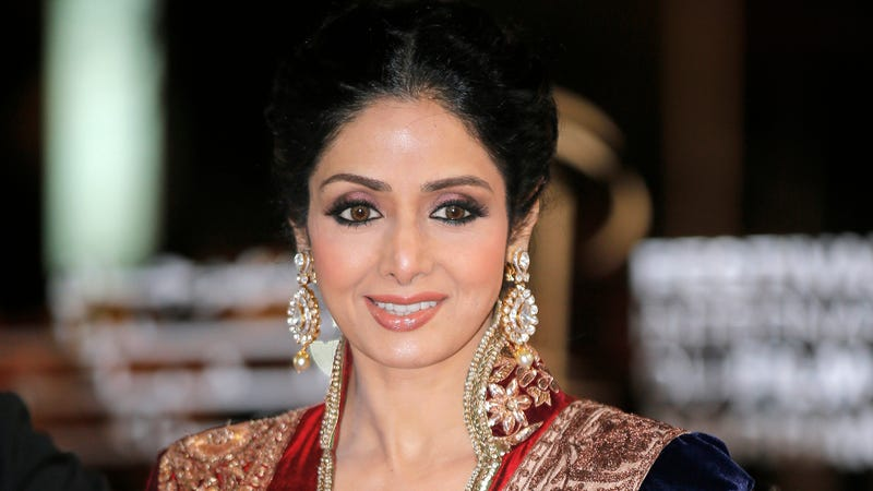 Illustration for article titled Beloved Bollywood IconSridevi Kapoor Has Passed Away at 54