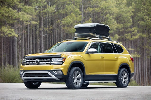 Illustration for article titled Volkswagen Atlas Weekend Edition Concept (Sponsored by JC Whitney)