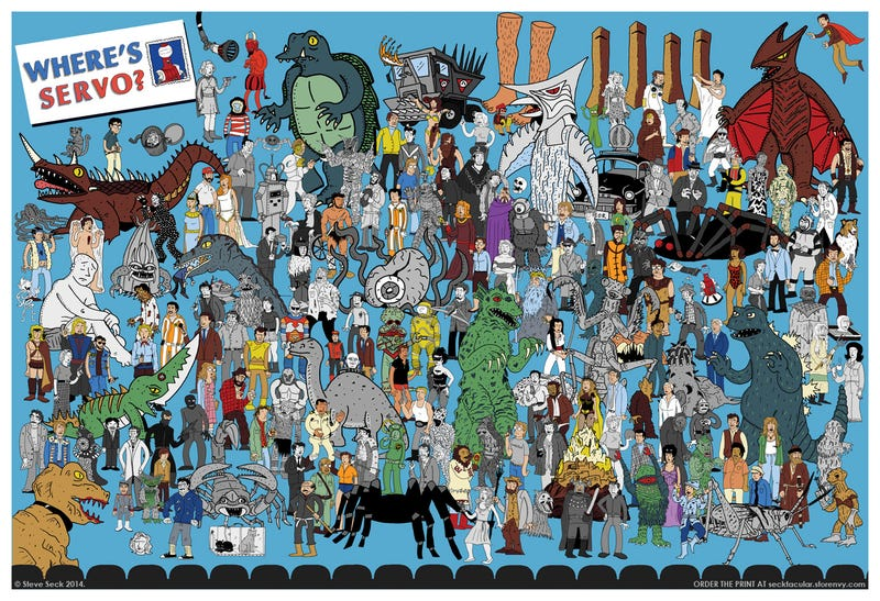 "Illustration for article titled ""Where's Servo?"" Is The Greatest MST3K Poster Of All Time"