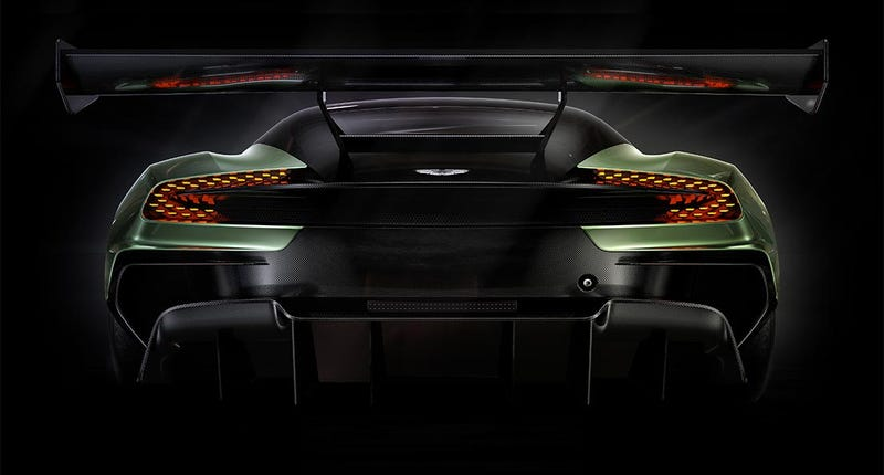 Illustration for article titled The Aston Martin Vulcan is the prettiest car ever