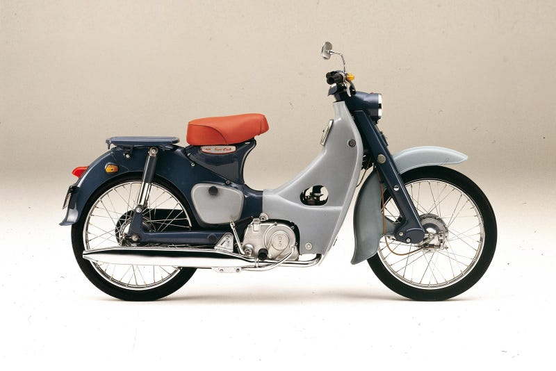 Illustration for article titled How hard would it be to import a Japanese Honda Super Cub to America?