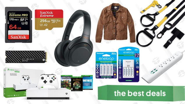 Tuesday s Best Deals: Sonos Refurbished Sale, TRX Suspension Kit, Xbox One S, and More