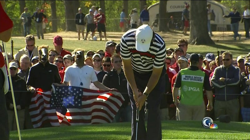 Illustration for article titled The U.S. Rolls Over And Europe Roars Back To Win The Ryder Cup