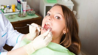 Illustration for article titled The Value Of Your Torturous Dental Work Is Drawn Into Question
