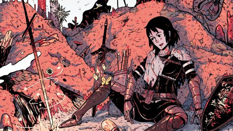 Illustration for article titled Dark Souls: Prepare to Studio Ghibli Edition