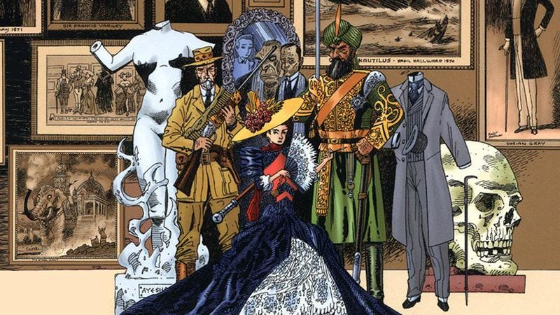 Illustration for article titled Fox to try League Of Extraordinary Gentlemen as a TV show this time