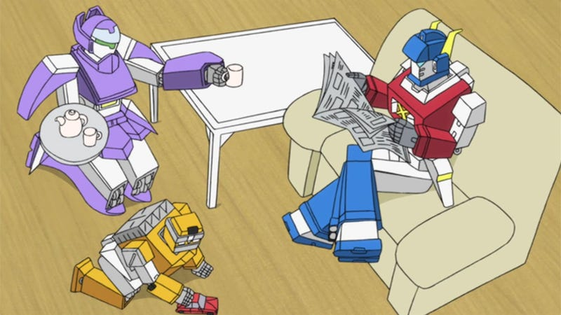 Illustration for article titled Transformers Make for the Cutest Japanese Family