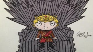 Illustration for article titled The Cast of Family Guy as Game of Thrones Characters