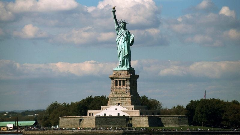 Illustration for article titled Statue Of Liberty Corporation To Shut Down All But New York Flagship Statue