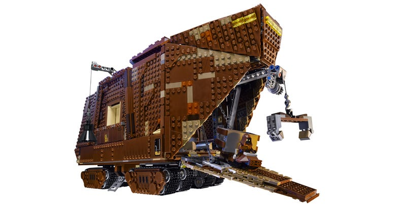Illustration for article titled This is the 3,296-piece Lego Star Wars Sandcrawler you were looking for