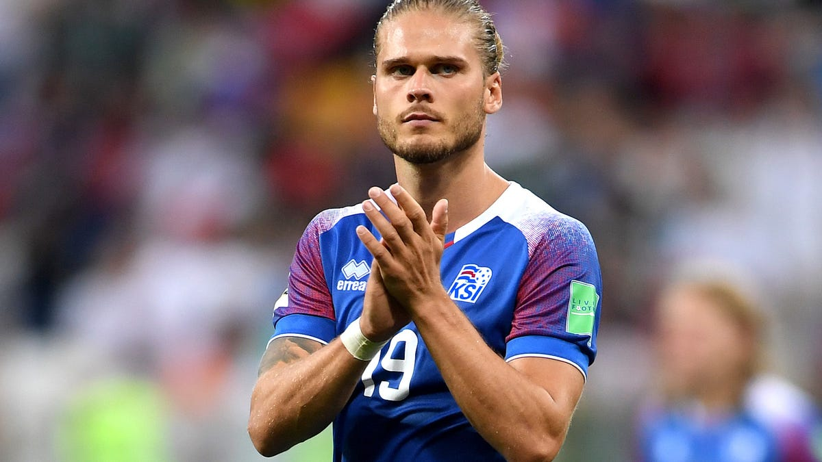 Little-Known Icelandic Soccer Player Becomes Social Media Sensation Due To  His Sexiness