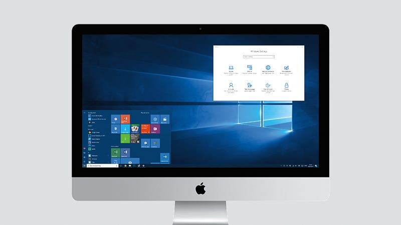machine run mac on windows