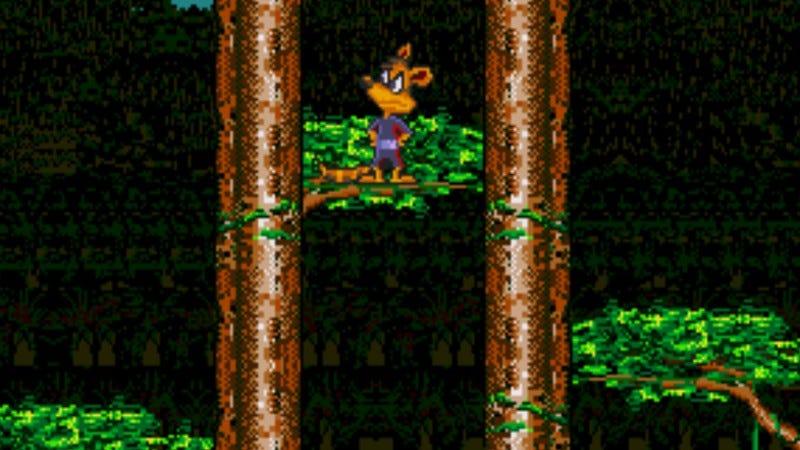 Screenshot: Awesome Possum…Kicks Dr. Machino's Butt