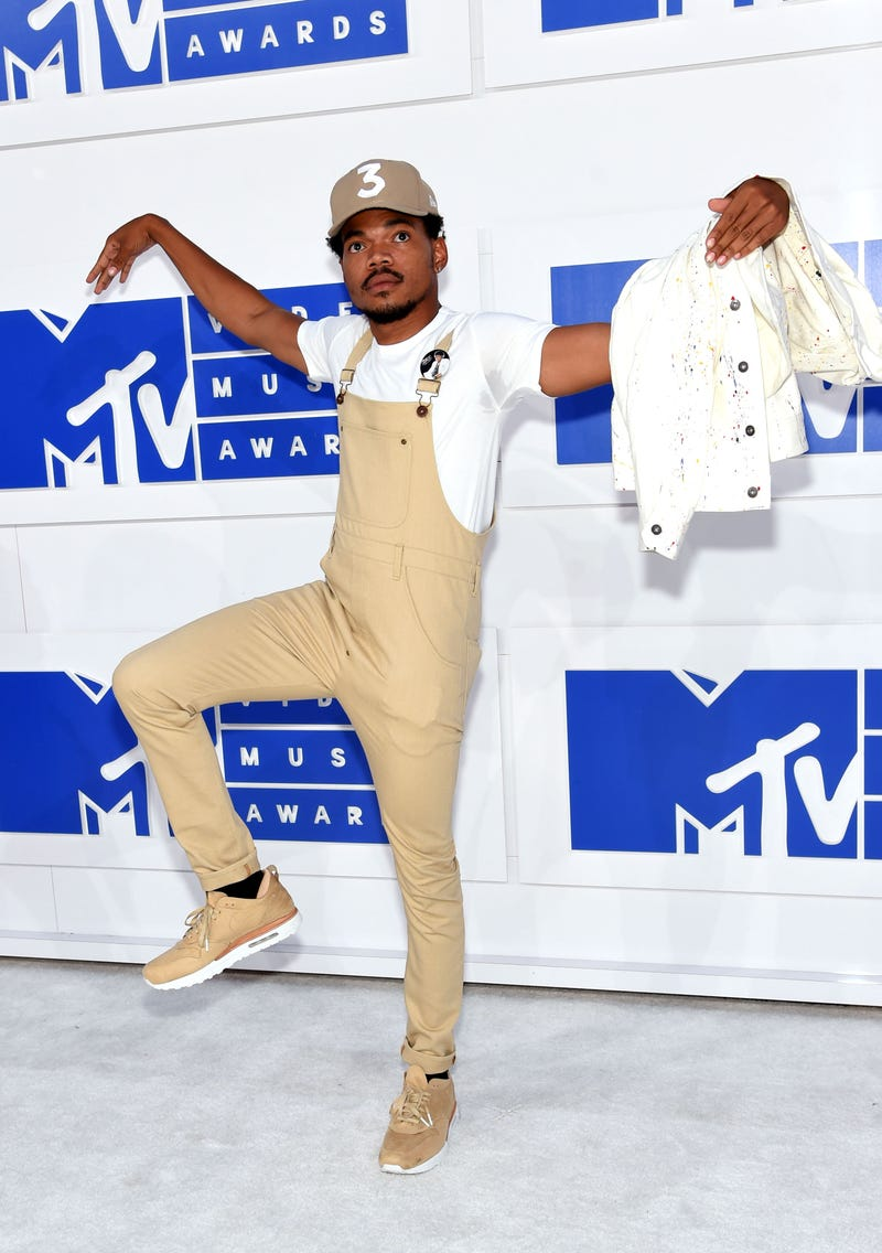 Chance the Rapper attends the 2016 MTV Video Music Awards at Madison Square Garden on Aug. 28, 2016, in New York City.Jamie McCarthy/Getty Images