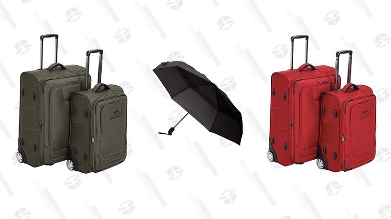 55% Off AmazonBasics Luggage and Travel | Amazon