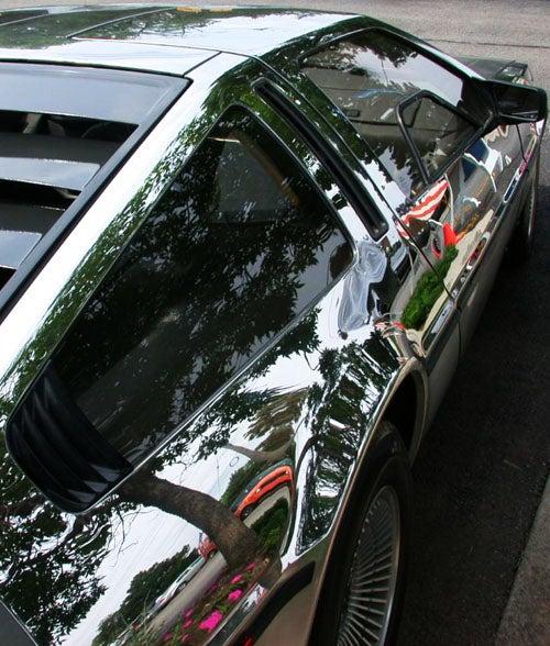Porsche Panamera Interior >> You Can See Yourself In A Mirror Polished DeLorean