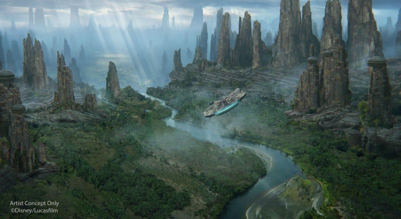 77 detalles increíbles que hacen diferente a la nueva zona Star Wars de Disneyland