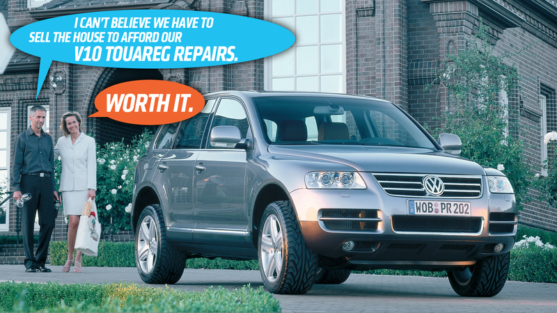 The Volkswagen Touareg V10 Tdi Was More Of A Nightmare Than You Can