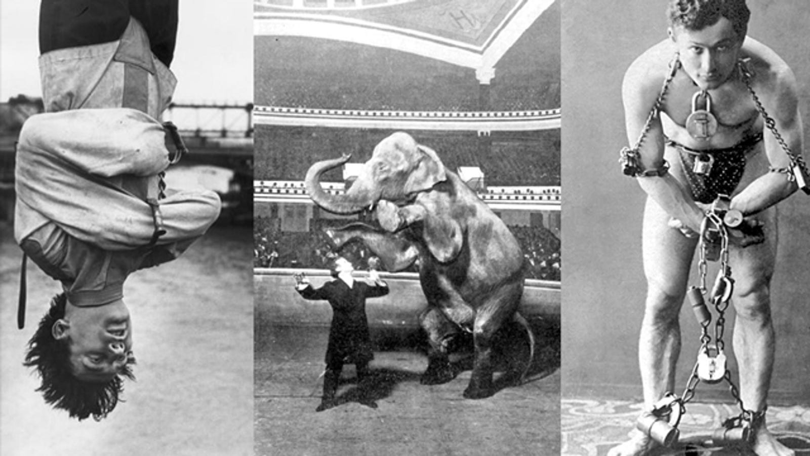 The Secrets Behind Harry Houdini's Ten Greatest Illusions