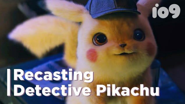 We Recast Detective Pikachu With Patrick Stewart, Ken Jeong, And More Because Why The Hell Not