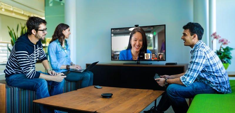 Illustration for article titled La nueva Google Chromebox apunta a las videoconferencias en el trabajo