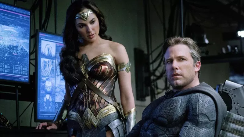 Batman and Wonder Woman, undoubtedly hearing some hot takes.