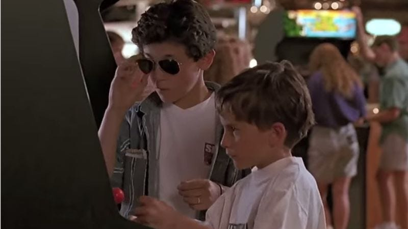 Here's a supercut of what arcades were like in '70s, '80s, and '90s movies