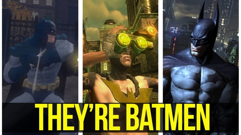 Illustration for article titled The Next Batman Video Game Won't Look Like Arkham City. Here's Why That's A Good Thing