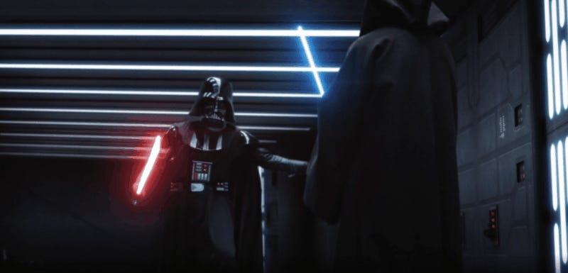 Darth Vader and Obi-Wan Kenobi's Death Star Duel Gets a Dramatic Fan Re-Imagining