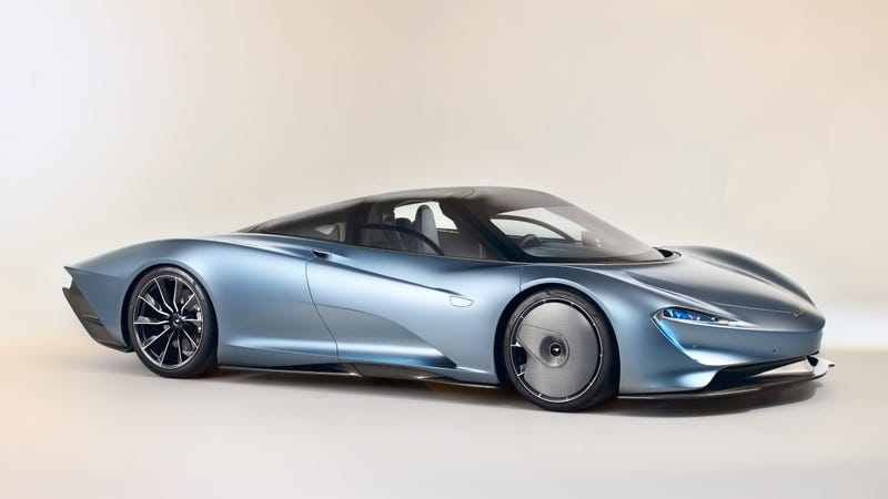 Illustration for article titled The 2019 McLaren Speedtail Isn't Quite Legal in the U.S.