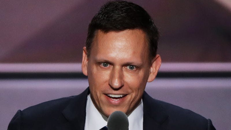 Illustration for article titled Peter Thiel Goes On the Record About Injections of Young Blood