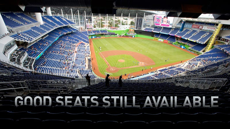 Illustration for article titled Photos: Marlins Park Is Satisfyingly Empty