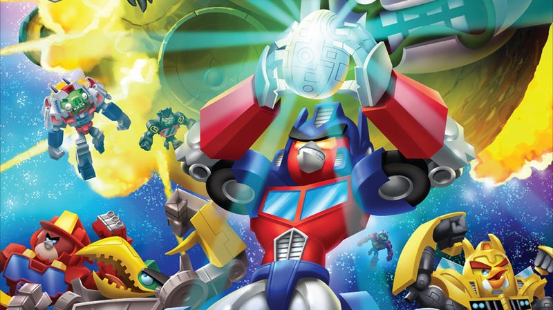 Illustration for article titled Nevermind Unicron, Angry Birds Transformers Is Coming