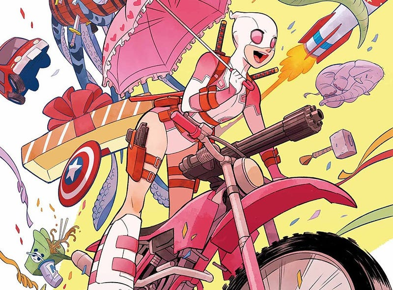 Illustration for article titled How The Unbelievable Gwenpool Deconstructs the Fourth Wall