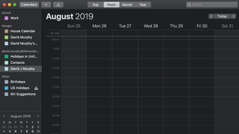 Illustration for article titled If Your Google Calendar Events Just Disappeared on Your Mac, Try These Temporary Fixes