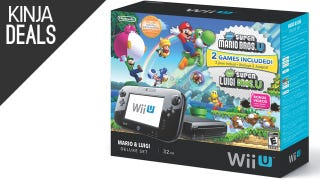 Illustration for article titled The Wii U Deluxe Bundle is Back Down to $260