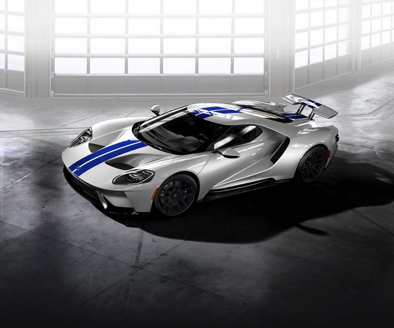 Illustration for article titled Ford GT configurator is up!