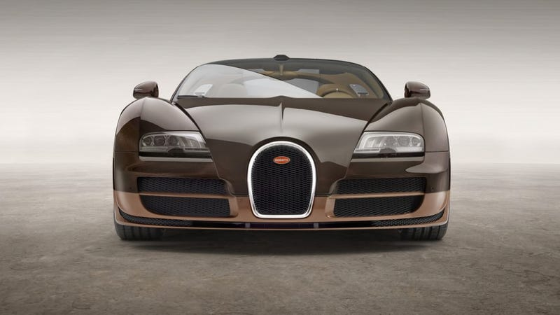 Illustration for article titled Brown Bugatti Veyron Rembrandt Edition Could Be None More Brown