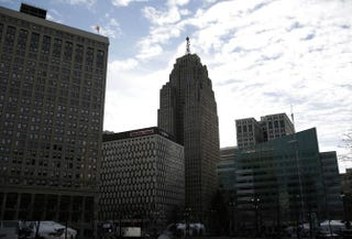 Detroit Skyline   Getty images