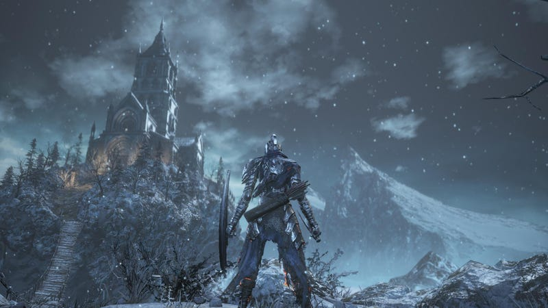 Illustration for article titled Dark Souls 3: Ashes of Ariandel Is Fun, If A Little Unsatisfying