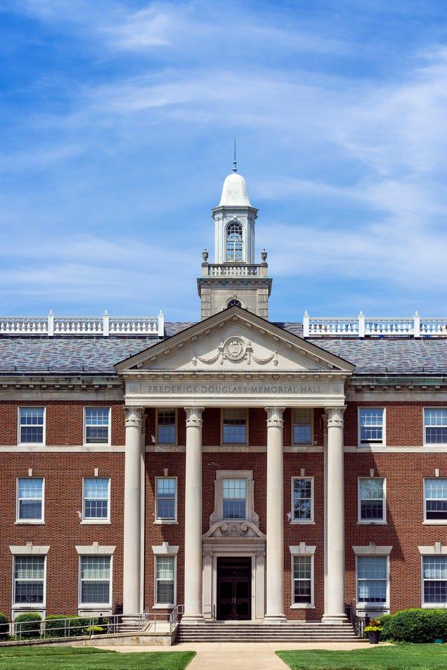 Frederick Douglas Memorial Hall at Howard University (John Greim/LightRocket via Getty Images)